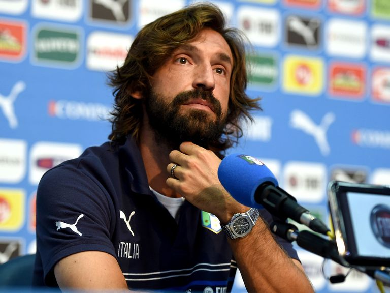 Andrea Pirlo: Plans to control the game against England like he did at Euro 2012