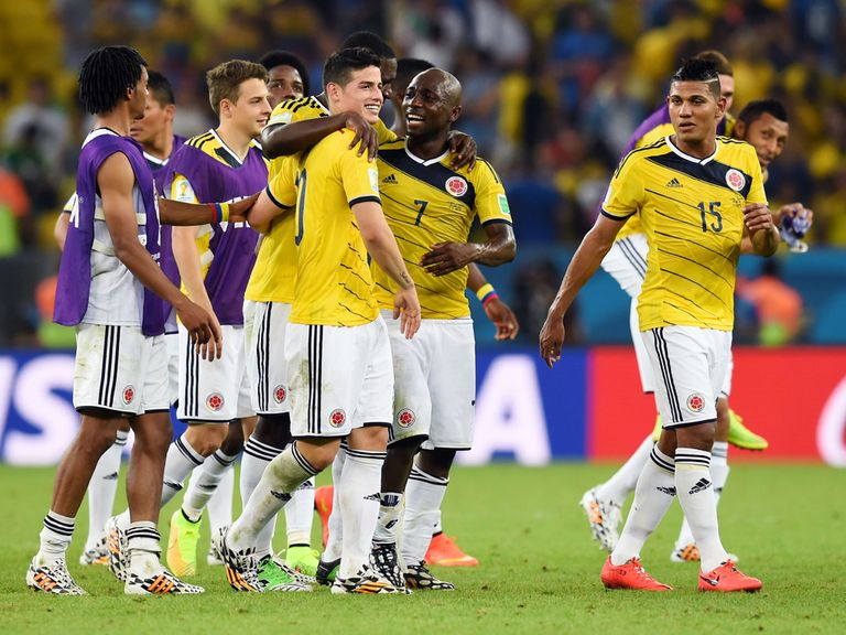 Colombia should be able to push hosts Brazil closely