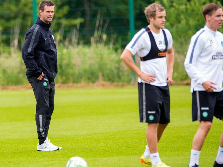 Ronny Deila: Wants Celtic to improve in time for the Champions League group stage.