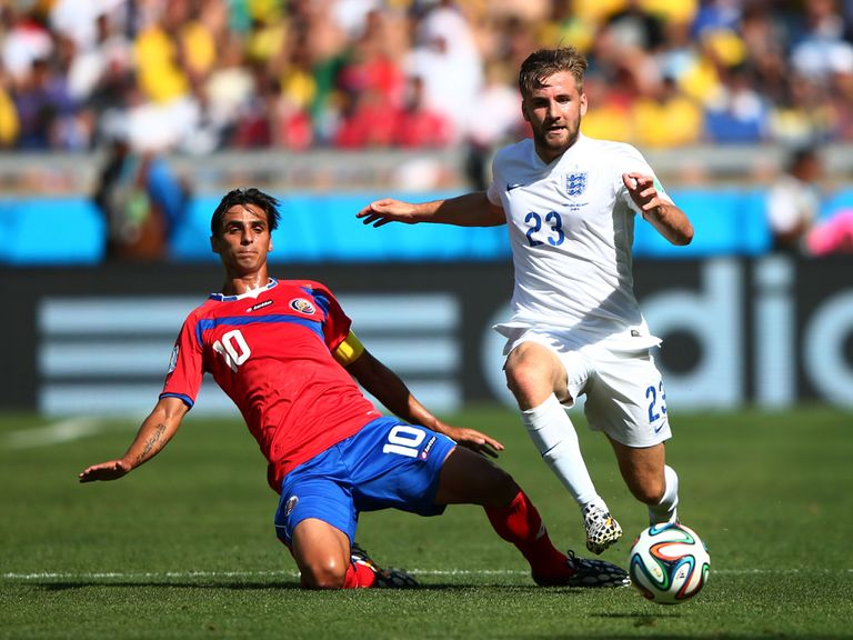 Luke Shaw: Devastated to be heading home so soon