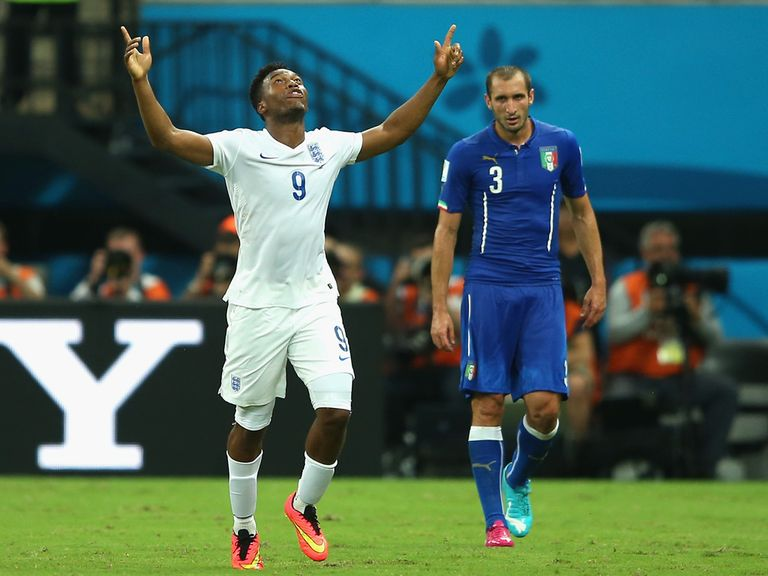 Daniel Sturridge's goal wasn't enough for England