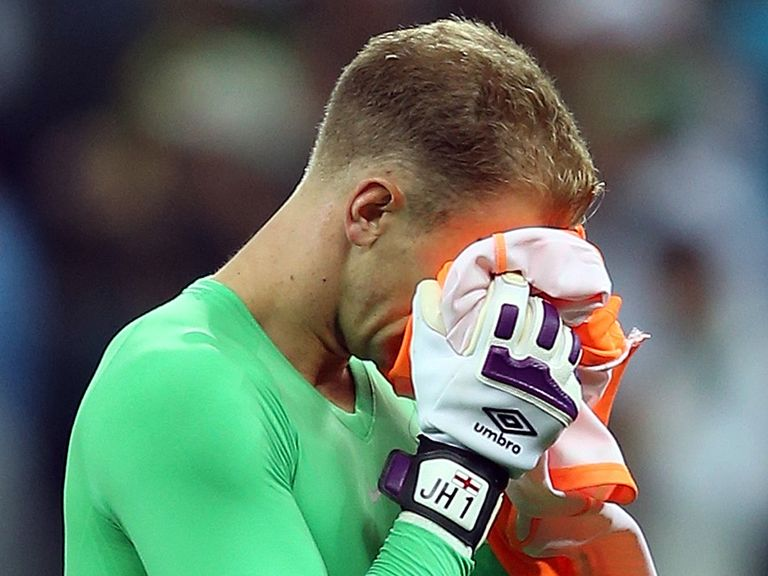 Joe Hart: Reaction as England are knocked out of the World Cup