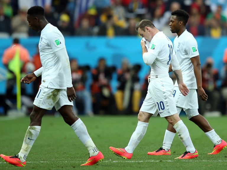 England are rooted to the foot of Group D with no points