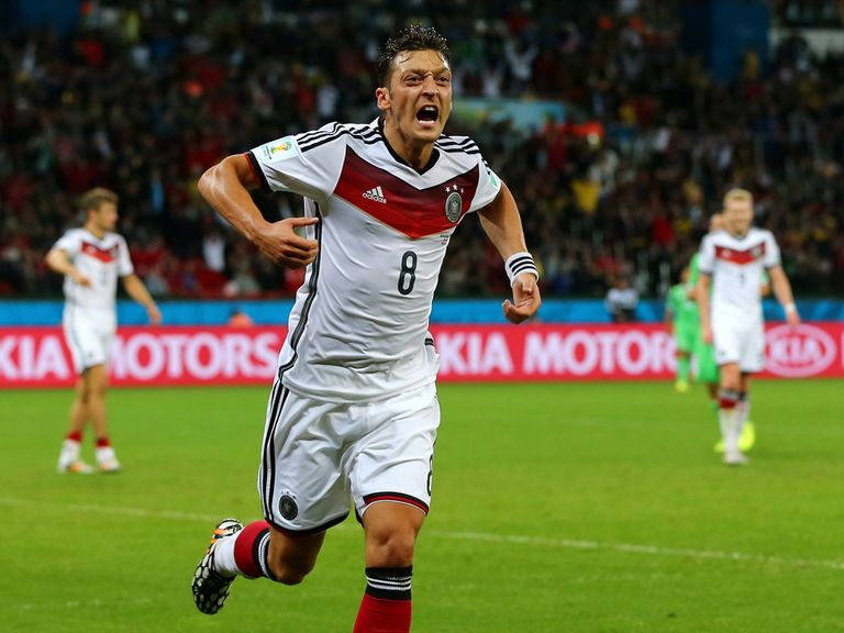 Ozil: Still on the comeback trail after the World Cup