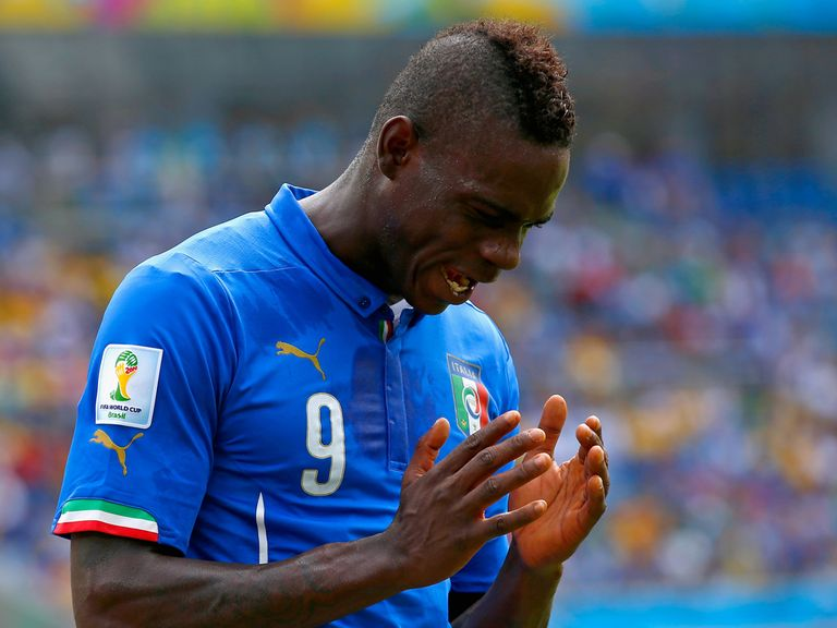 Mario Balotelli: AC Milan insist the striker is staying put