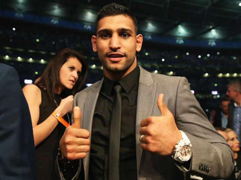 Amir Khan: Willing to face Kell Brook