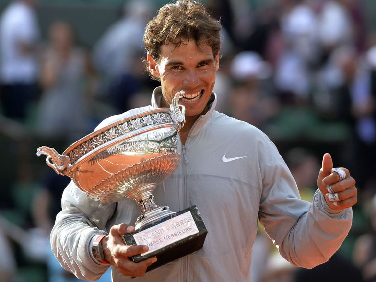 Rafael Nadal: Won the French Open for a ninth time