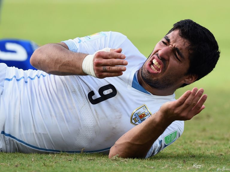 Luis Suarez: Banned by FIFA for biting