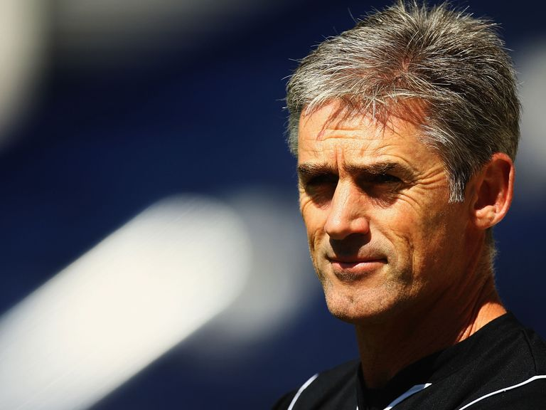 Alan Irvine, new West Brom manager