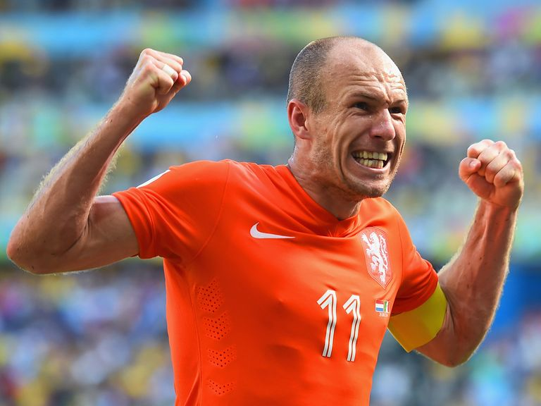 Arjen Robben and the Dutch can beat Costa Rica to nil