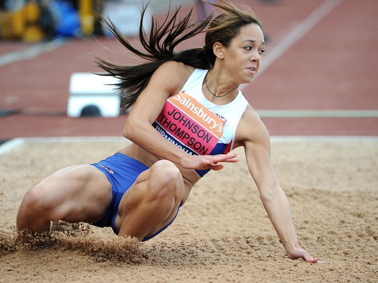 Katarina Johnson-Thompson: Ruled out by foot injury
