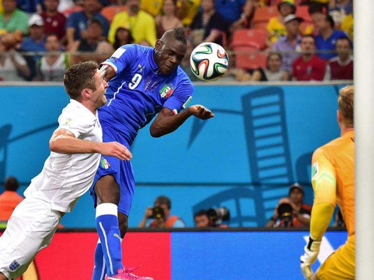 Mario Balotelli: Scored the deciding goal in Manaus