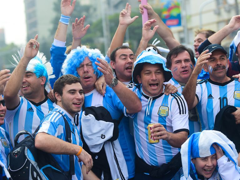 Argentina look good bets to go all the way in Brazil.