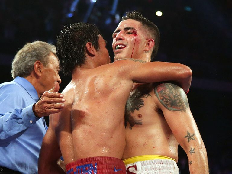 Brandon Rios: Beats Diego Chaves after Argentinian disqualified