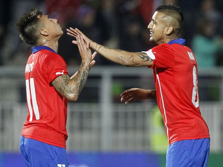 Chile can run up a big score against Australia