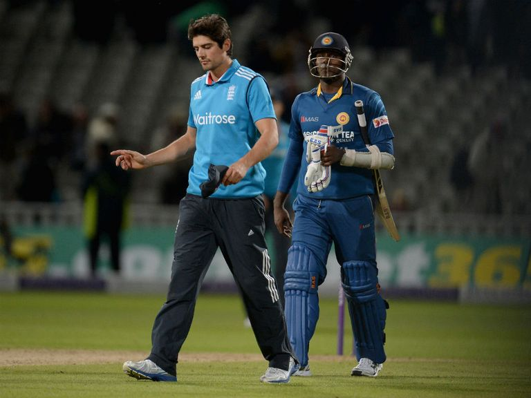 Alastair Cook (l): Ill-feeling likely to linger