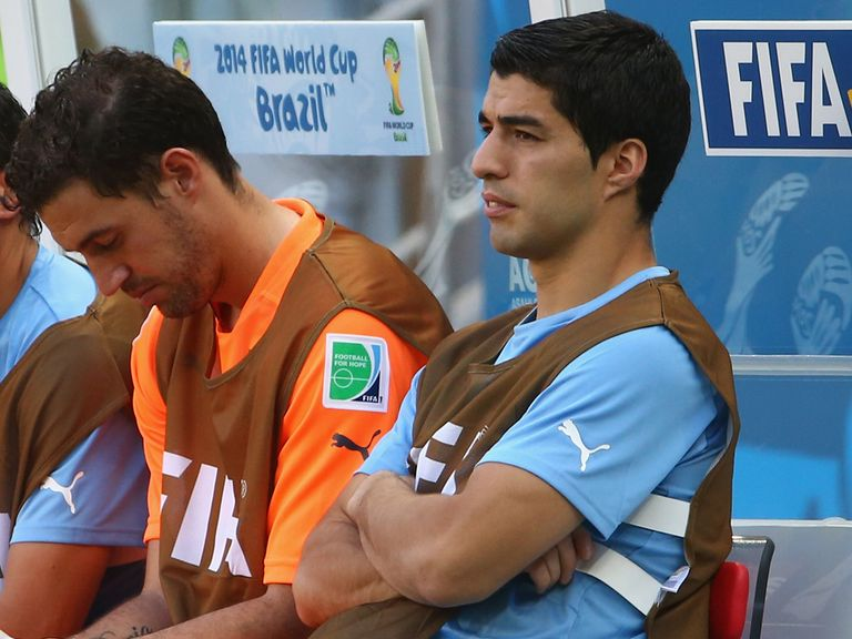 Suarez: Urged the Uruguay fans to stay calm