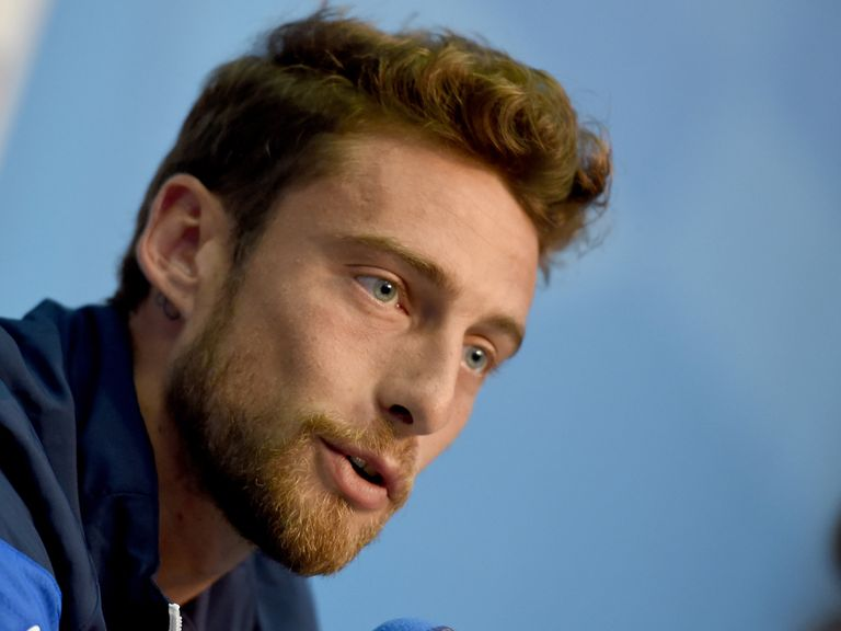 Claudio Marchisio and Italy face England on Saturday