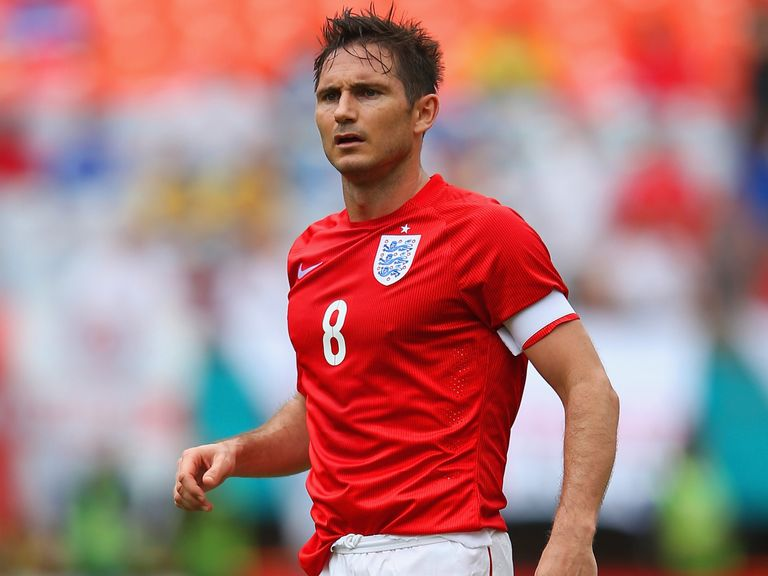 Frank Lampard made 106 appearances for England and scored 29 goals