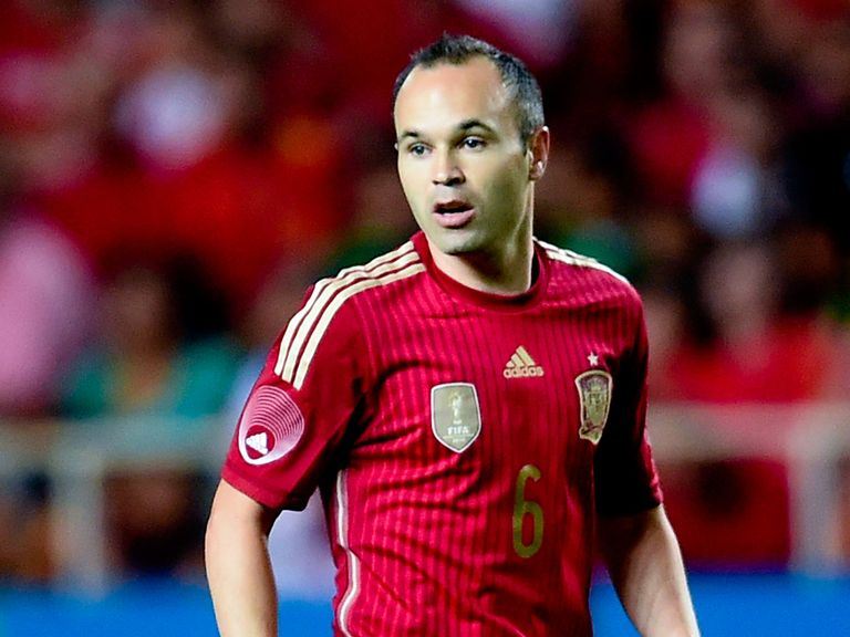 Andres Iniesta: Ruled out by a knee injury