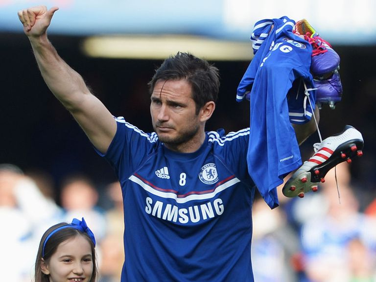 Frank Lampard: Leaving Chelsea after 13 years