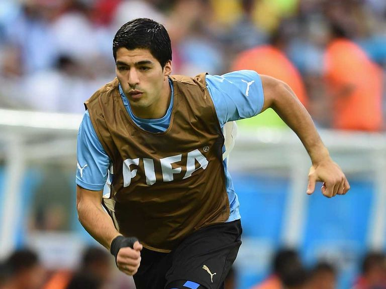 Luis Suarez: Could start for Uruguay