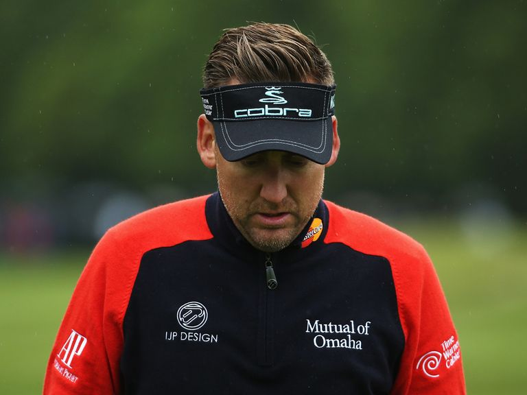 Ian Poulter: Injury worry of the Open Championship