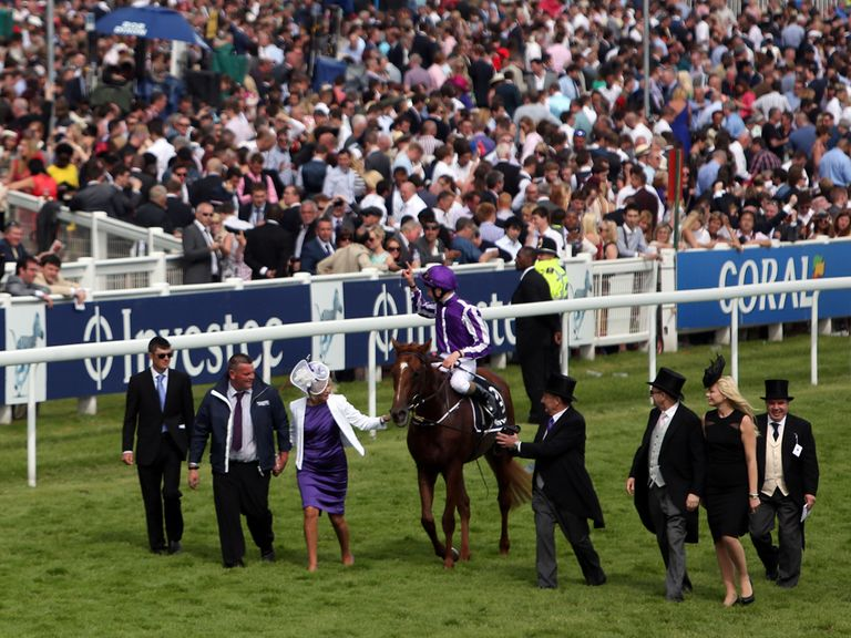 Australia was a hugely-impressive winner of the 2014 Derby