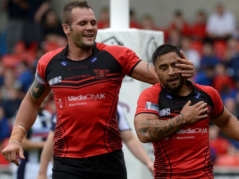 Rangi Chase: Key player for Salford