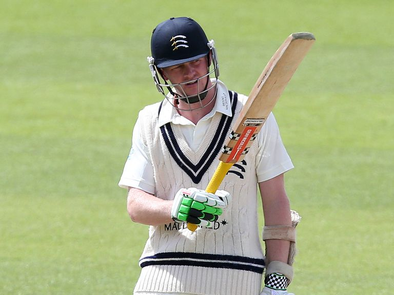 Sam Robson: The Middlesex batsman is set to make his Test debut