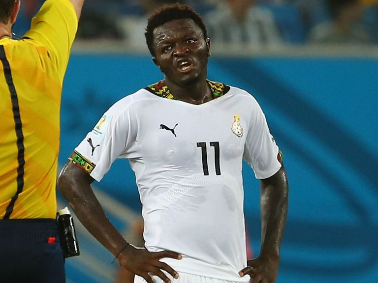 Sulley Muntari: Sent home by Ghana after row