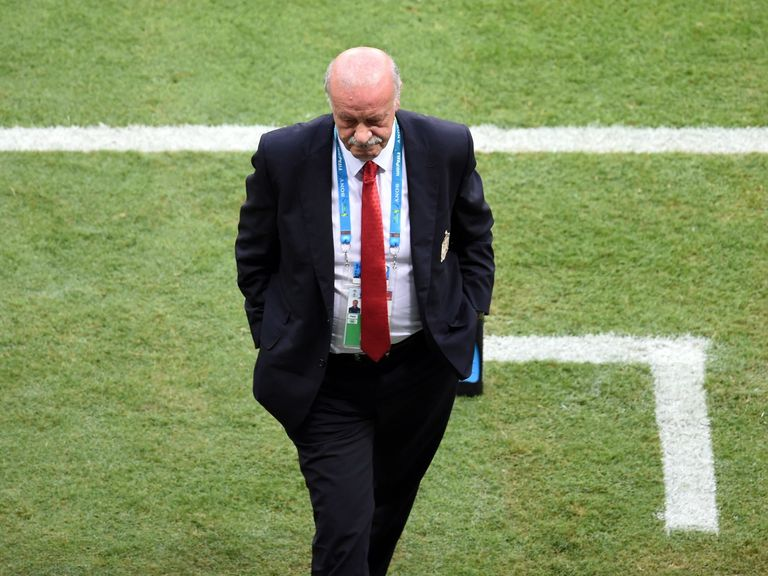 Spain's coach Vicente Del Bosque: Considering his options for Chile clash