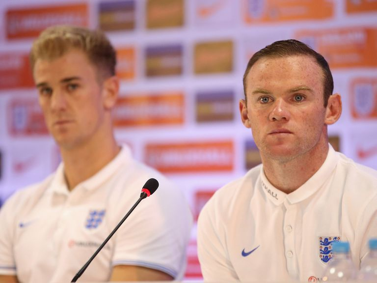 Wayne Rooney: Recently named England captain