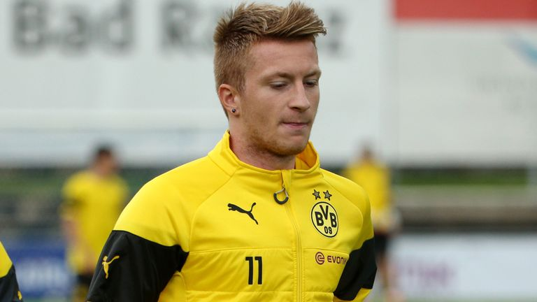 Marco Reus: Made his long-awaited return