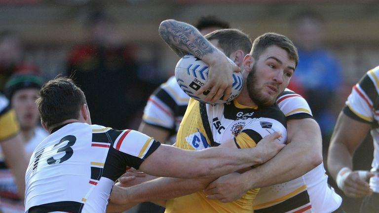 Daryl Clark: Has been the Tigers' stand-out player in Super League this season