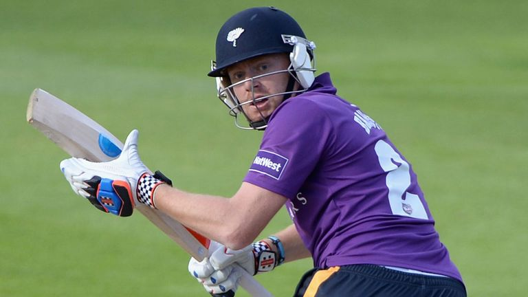 Jonny Bairstow: aiming to make a big impact for Yorkshire with the bat in 50-over cricket