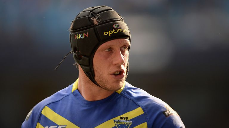 Chris Hill: Has signed a new long-term deal at Warrington