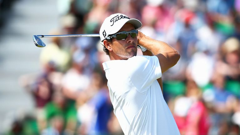 Adam Scott: Up with the pace