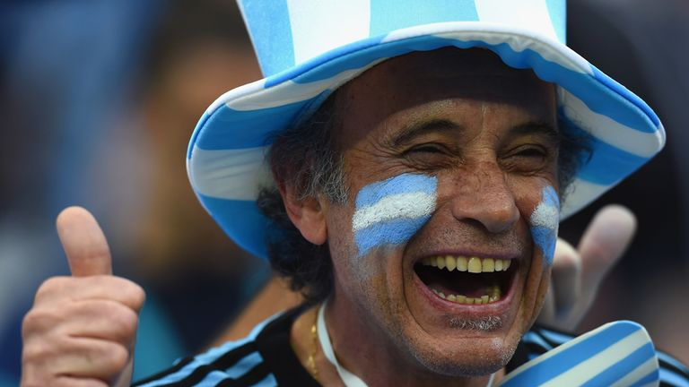 Argentina: 'We are not just a team. We are a country.'