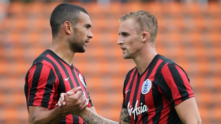 Jack Collison (right): Currently training at Ipswich