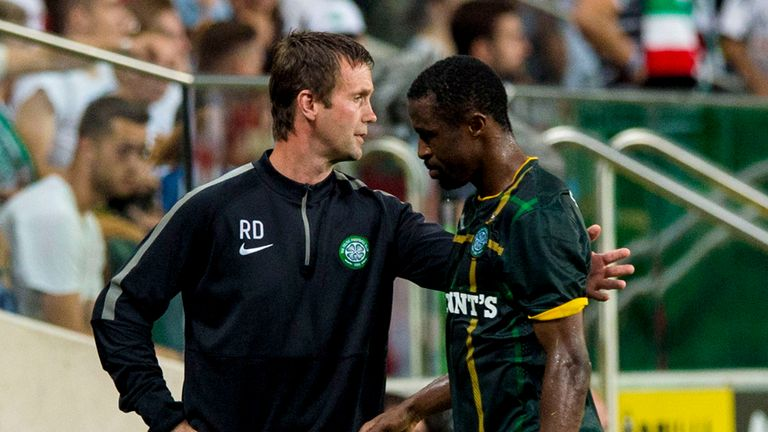 Deila (l): Defeat could have major impact on his transfer plans