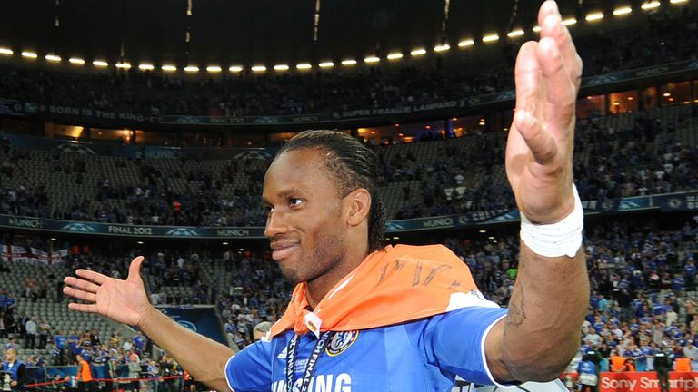 """""""I put my hand on Didier's shoulder and said, 'Look around, Didier. Look where we are. Please, don't worry.'"""""""
