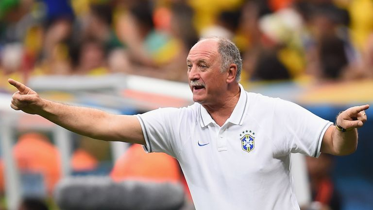 Luiz Felipe Scolari: Waiting on future after Brazil's World Cup ends