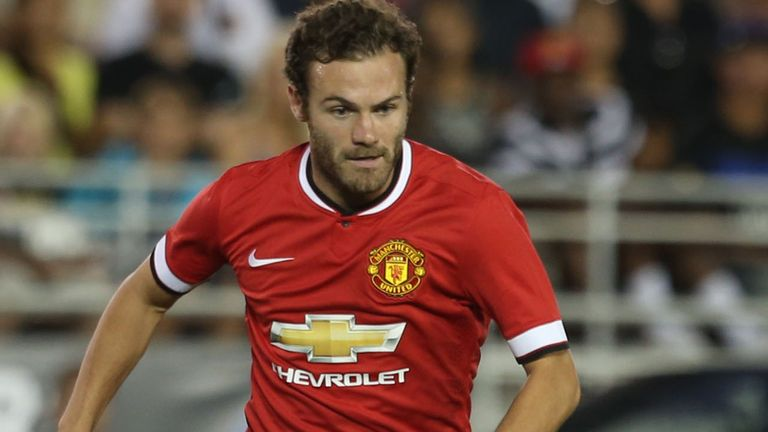 Juan Mata: Manchester United midfielder has used social media to welcome new players to the club