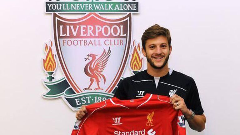 Adam Lallana: New signing