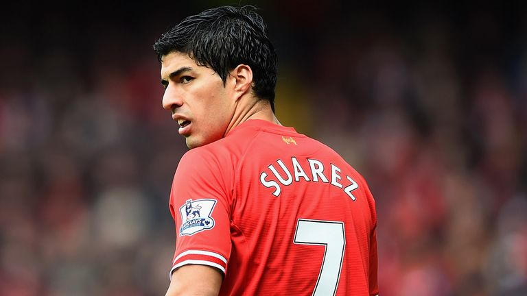 Luis Suarez: Likened to Eric Cantona by David Beckham