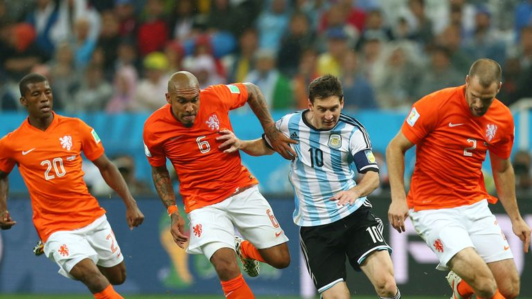 Lionel Messi found the going tough against Holland but has a final chance to impress