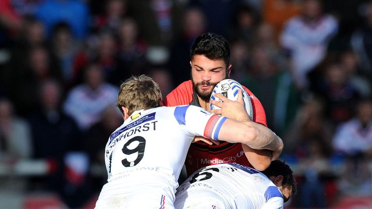 Jimmy Keinhorst: Eager to play as much as possible for Wakefield