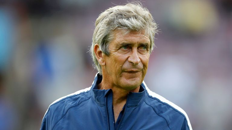 Manuel Pellegrini: Admits he will have to trim his current squad