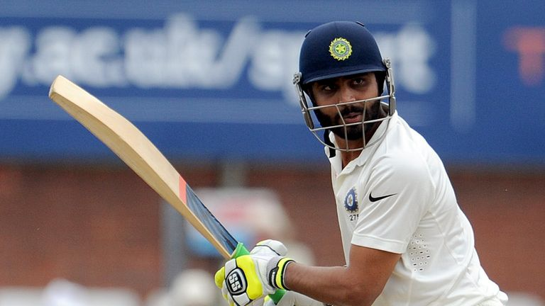 Jadeja's batting should come as no surprise - he has made THREE first-class triple centuries